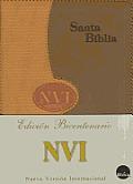 NVI Spanish Large Print Bible - Duotone Orange/Tan