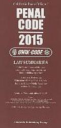 2015 Penal Code: Qwik Code California