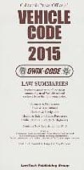 2015 Vehicle Code: Qwik Code California