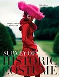 Survey of Historic Costume-text Only (5TH 10 Edition) Cover