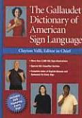 The Gallaudet Dictionary of American Sign Language with DVD Cover