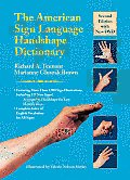 American Sign Language Handshape Dictionary 2nd Edition with DVD