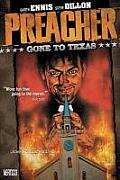 Preacher #01: Gone to Texas Cover