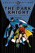 Dark Knight Archives Volume 3 Batman