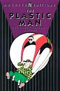 Plastic Man Archives, Volume 4 Cover