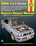 Haynes BMW 3 and 5 Series 1982-92 Cover