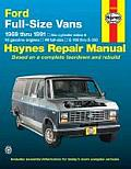 Ford Full Size Vans 1969 Thru 1991 6 Cylinder Inline & V8 Gasoline Engines