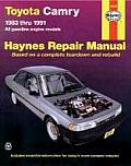 Haynes Toyota Camry Owner Workshop Manual #1023: Toyota Camry Automotive Repair Manual: All Gasoline Engine Models Cover