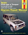 Isuzu Pickups 81 93 Trooper 84 91 Repair