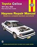 Toyota Celica Rwd: Automotive Repair Manual (Haynes Automotive Repair Manuals Series)