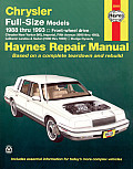 Chrysler Full-Size Front Wheel Drive Automotive Repair Manual (Haynes Automotive Repair Manual Series)