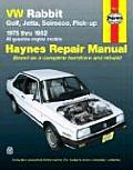 Volkswagen Rabbit Golf Jetta 1975 1992