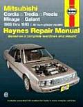 Mitsubishi FWD Models Automotive Repair Manual (Haynes Repair Manuals)