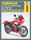 Yamaha FJ, Fz, Xj, & Yx600 Radian Owners Workshop Manual: Air-Cooled Fours 1984-1995 598cc