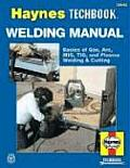 The Haynes Welding Manual (Haynes Techbook) Cover