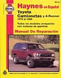 Haynes Espanol Toyota Camion 4run 79-95