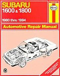Subaru 1600 & 1800 and Loyale: '80 Thru '94 (Haynes Automotive Repair Manual Series)