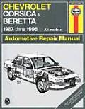 Haynes Chevrolet Corsica and Beretta, 1987-96 (Haynes Automobile Repair Manual)