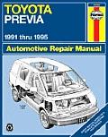 Toyota Previa: 1991 Thru 1995