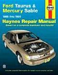 Ford Taurus & Mercury Sable, 1986 Thru 1995