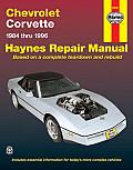 Haynes Chevrolet Corvette, 1984-96 (Haynes Automobile Repaiar Manual)