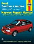 Ford Festiva & Aspire: '88 Thru '97 (Haynes Automotive Repair Manual Series)