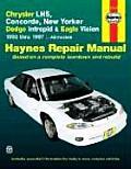 Chrysler LHS Concorde New Yorker Dodge Intrepid & Eagle Vision Repair Manual 1993 1997