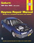 Haynes Saturn 1991 1999 All Models