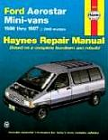 Haynes Ford Aerostar: 1986 Thru 1997 (Haynes Automotive Repair Manual Series) Cover