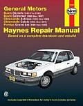 General Motors Buick Skylark 1986 1998 Buick Somerset 1985 1987 Oldsmobile Achieva 1992 1998 Oldsmobile Calais 1985 1991 Pontiac Grand Am 1985 1998 Repair Manual