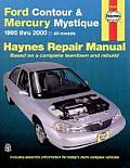 Haynes Ford Contour & Mercury Mystique: 1995 Thru 2000 (Haynes Automotive Repair Manual Series)