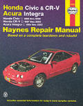Haynes Honda Civic and Cr-V Acura Int. 1994 - 2000 (Haynes Automotive Repair Manual Series)