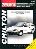 Chevrolet Sprint & Metro 85-00 (Chilton's Total Car Care Repair Manuals) Cover