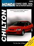 Honda Civic and del Sol: 1996-00 Repair Manual (Chilton's Total Car Care Repair Manuals)