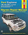 Ford Explorer Repair Manual 1991 2001 Includes Mazda Navajo & Mercury Mountaineer