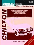 Chilton's Nissan Pick-Ups, 1998-01 Repair Manual: Covers U.S. and Canadian Models of Frontier Pick-Ups (1998 Thru 2001), Xterra (2000 Thru 2001), Path (Chilton's Total Car Care Repair Manuals)