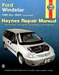Ford Windstar 1995 Thru 2003: All Models: All Models (Haynes Automotive Repair Manual Series)