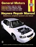Chevrolet, Oldsmobile, Pontiac Automotive Repair Manual: Malibu, Alero and Cutlass, Grand Am (Haynes Repair Manuals)