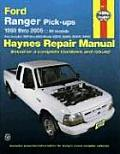Ford Ranger Pick-Ups 1993 Thru 2005: All Models: Also Includes 1994 Thru 2005 Mazda B2300, B2500, B3: All Models: Also Includes 1994 Thru 2005 Mazda B