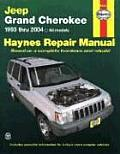 Jeep Grand Cherokee 1993 Thru 2004: All Models: All Models