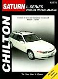 Chilton's 2000-04 Saturn L Series Repair Manual Cover
