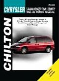 Chrysler Caravan Voyager & Town & Country Revised Edition 1996 2002