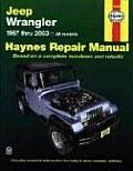 Jeep Wrangler Automotive Repair Manual 1987 2003 All Models