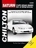 Saturn Coupes/Sedans/Wagons, 1991-2002 (Chilton's Total Car Care Repair Manuals)