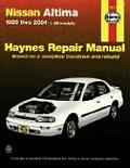 Haynes Nissan Altima 1993 Thru 2004: Automotive Repair Manual (Haynes Repair Manuals)