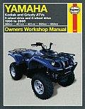 Yamaha Kodiak & Grizzly Atvs 1993 to 2005