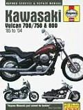 Kawasaki Vulcan 700, 750 & 800, 1985-2004