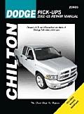 Dodge Pick-Ups: 2002 Through 2005 (Haynes Repair Manuals)