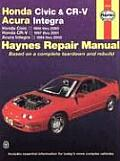 Honda Civic & Cr V Acura Integra Honda Civic 1996 Thru 2000 Honda Cr V 1997 2001 Acura Integra 1994 Thru 2000