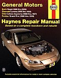 General Motors Buick Regal 1988 2005 Chevrolet Lumina 1990 1994 Oldsmobile Cutlass Supreme 1988 1997 Pontiac Grand Prix 1988 1999 Repair Manual